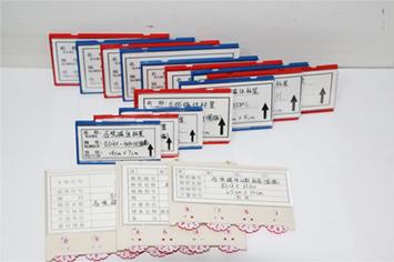磁性质料卡